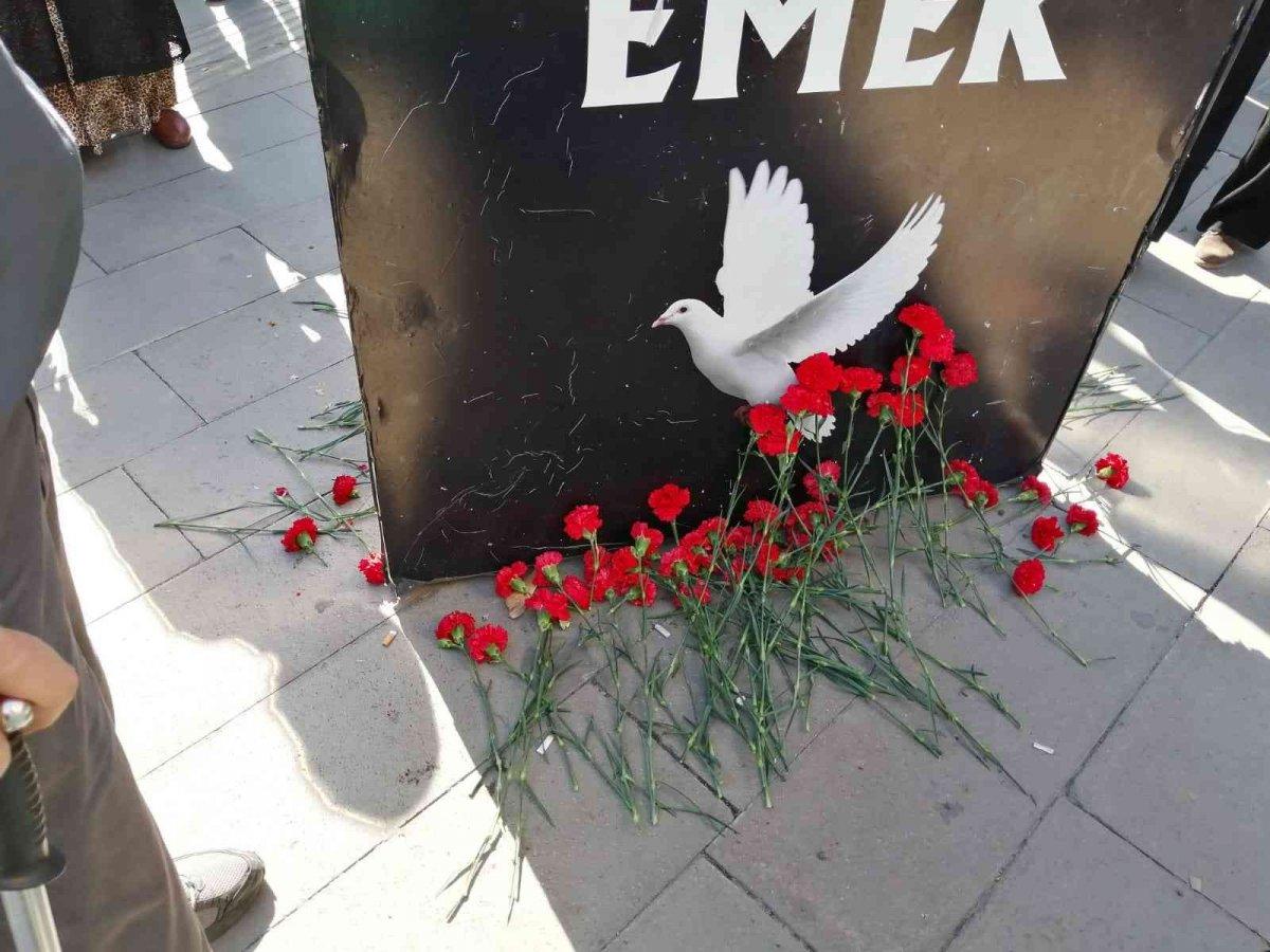 Ankara Garı ndaki anma törenine gölge düşürdüler  #2