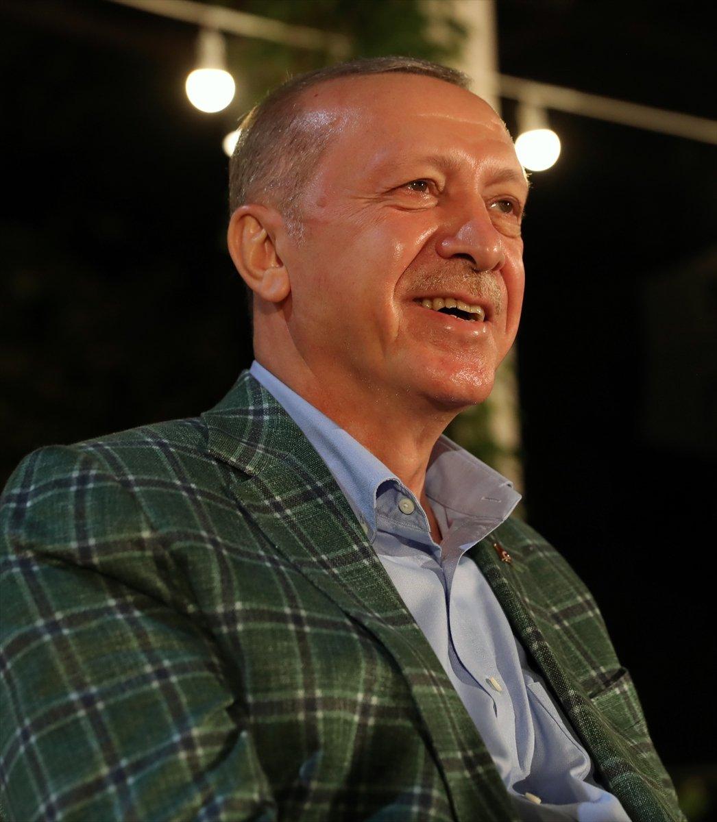 Cumhurbaşkanı Erdoğan, Adana da gençlerle buluştu #11