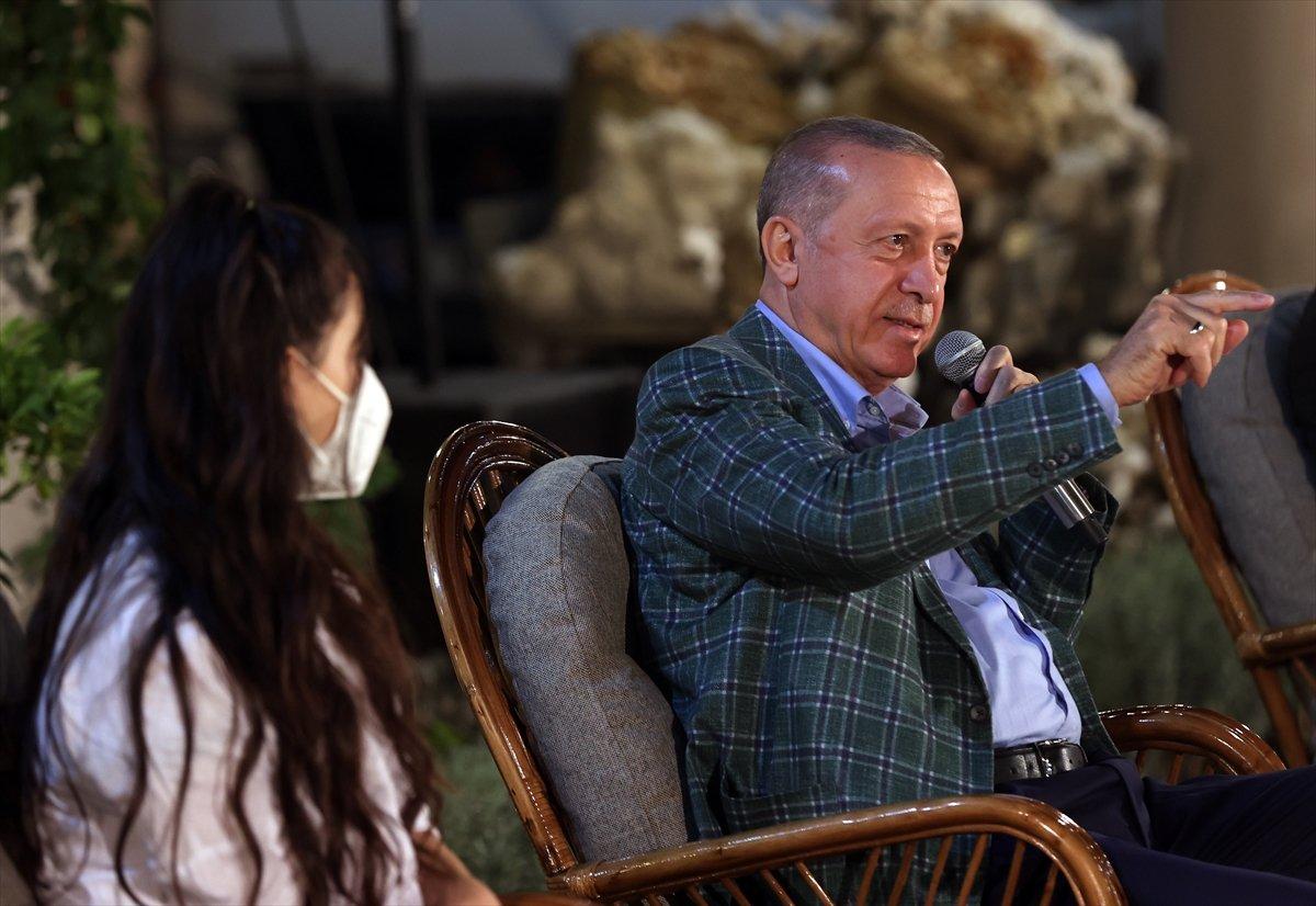 Cumhurbaşkanı Erdoğan, Adana da gençlerle buluştu #8