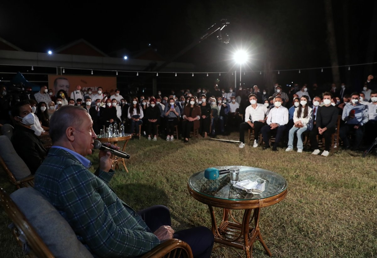 Cumhurbaşkanı Erdoğan, Adana da gençlerle buluştu #4