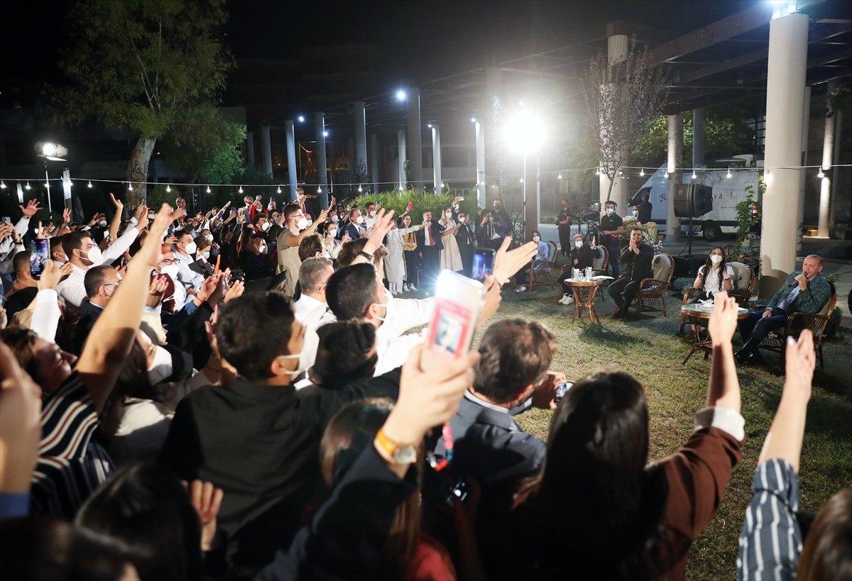 Cumhurbaşkanı Erdoğan, Adana da gençlerle buluştu #6