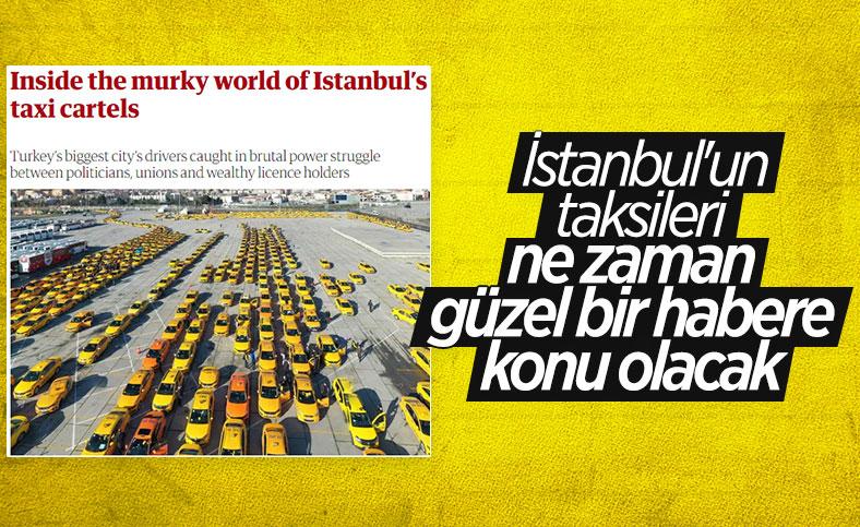 İstanbul'daki taksi sorunu İngiliz medyasında