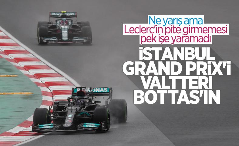 İstanbul Grand Prix'sini Valtteri Bottas kazandı