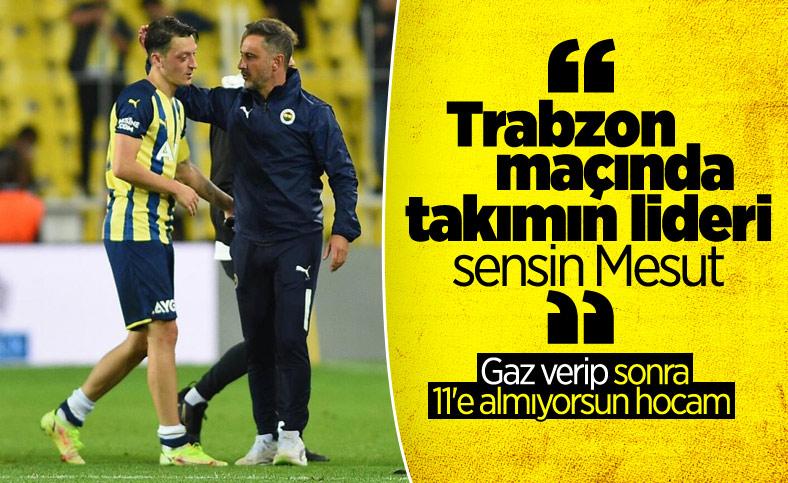 Pereira'dan Mesut Özil'e özel görev