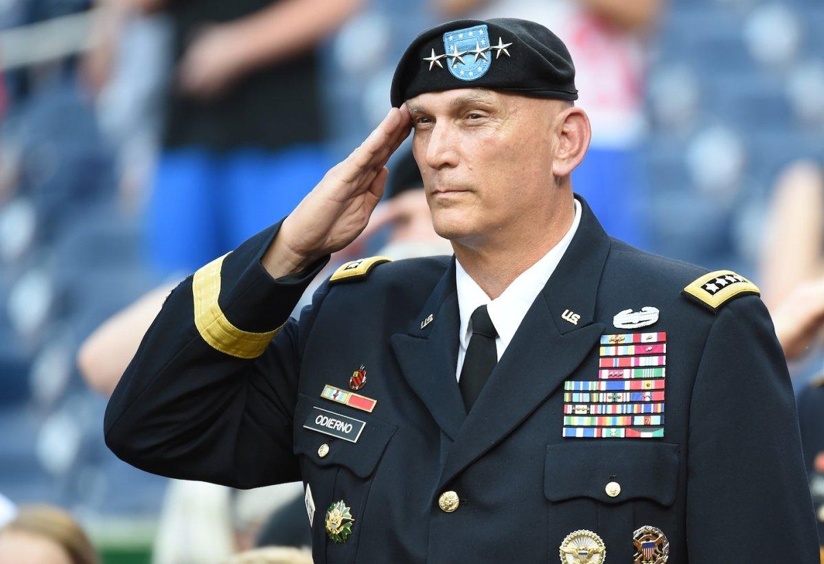 Çuvalcı general ABD li komutan Odierno kanserden öldü #1