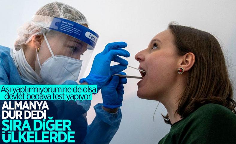 Almanya'da, koronavirüs testleri ücretli oldu