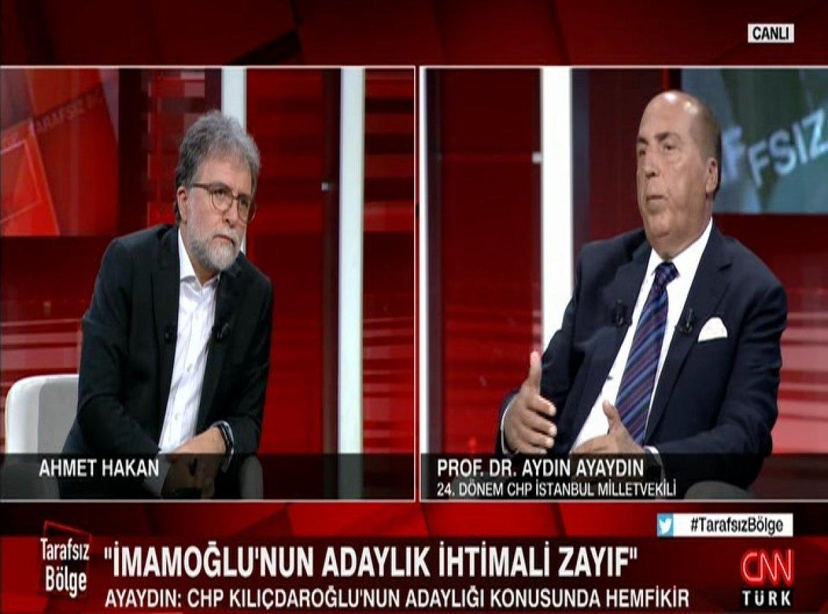 Aydın Ayaydın: İyi Parti, Kemal Kılıçdaroğlu adaylığına sıcak bakıyor #1