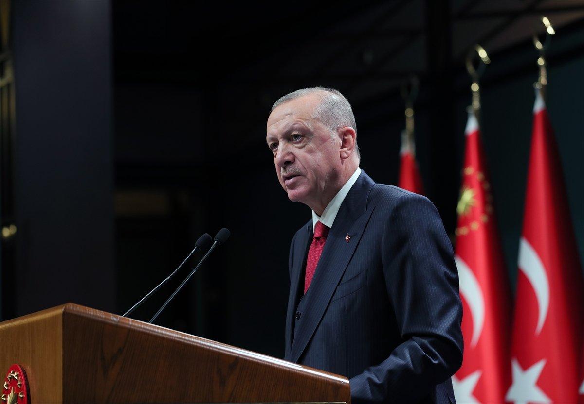 Cumhurbaşkanı Erdoğan dan önemli açıklamalar #2