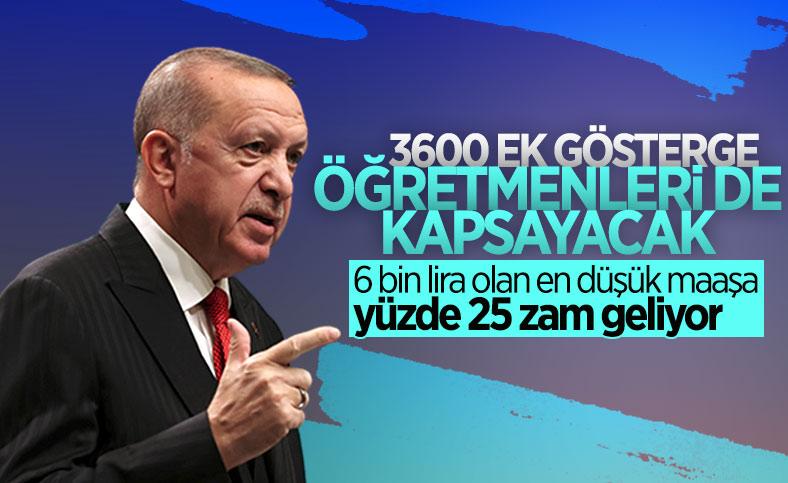 Cumhurbaşkanı Erdoğan, Beştepe'deki açılış töreninde