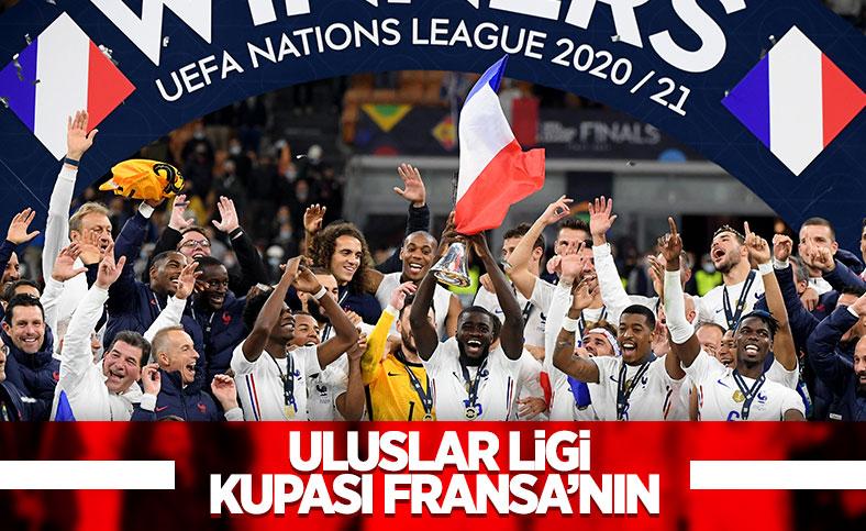 Fransa İspanya'yı 2-1 yenerek şampiyon oldu