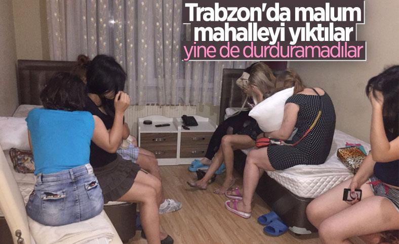 Trabzon'da 155 kadına fuhuş nedeniyle 31 bin lira ceza yazıldı