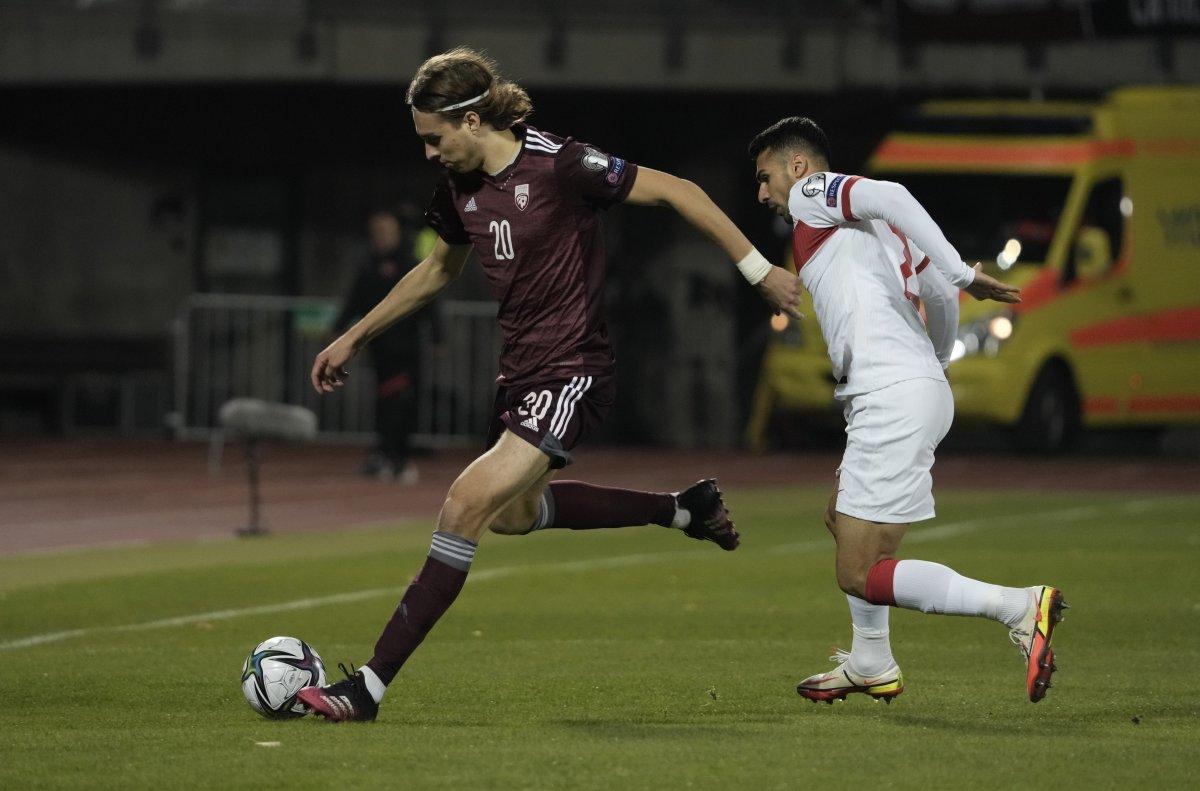 A Milli Takımımız, Letonya yı son saniyede yıktı #1