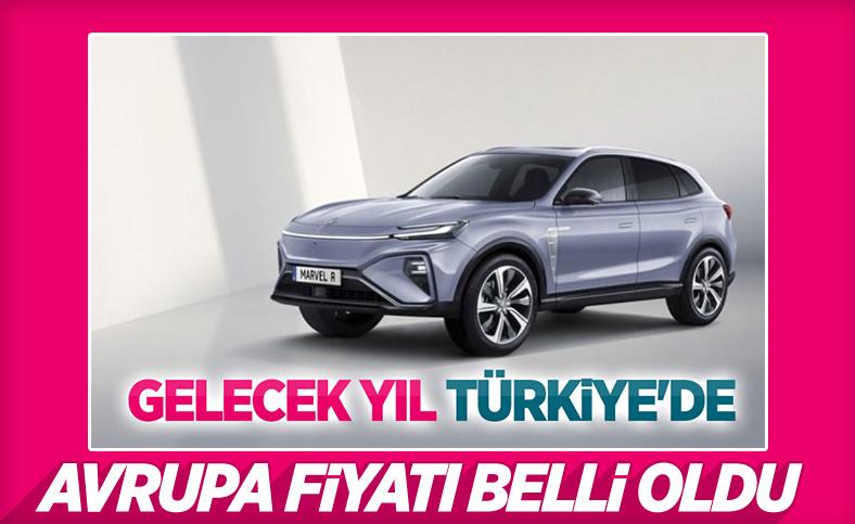 Türkiye'ye gelecek elektrikli MG Marvel R'nin Avrupa fiyatı