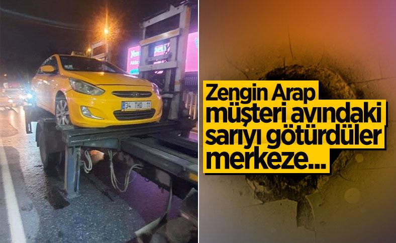 İstanbul'da müşteri kabul etmeyen taksicilere ceza kesildi