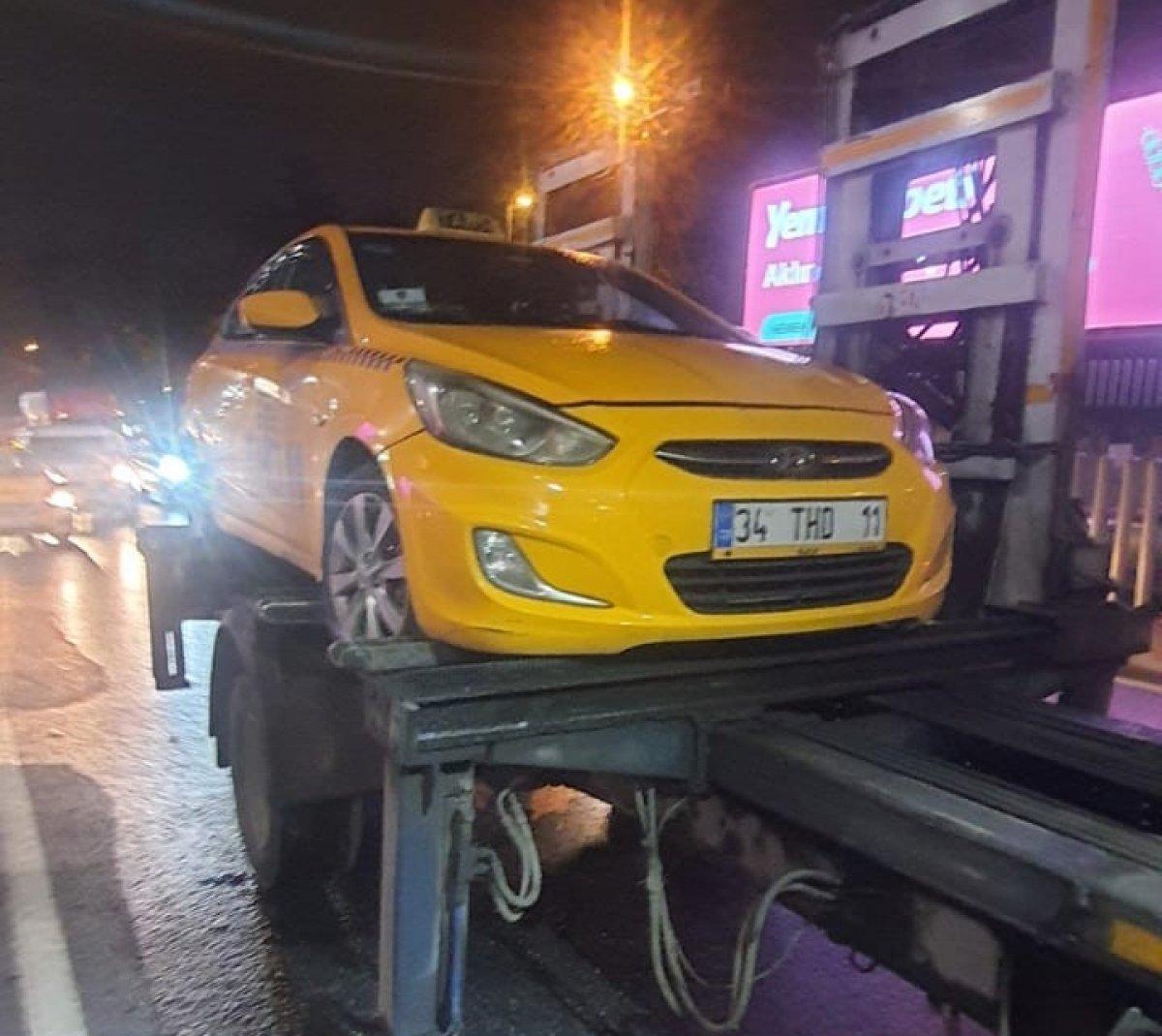 İstanbul da müşteri kabul etmeyen taksicilere ceza kesildi #1