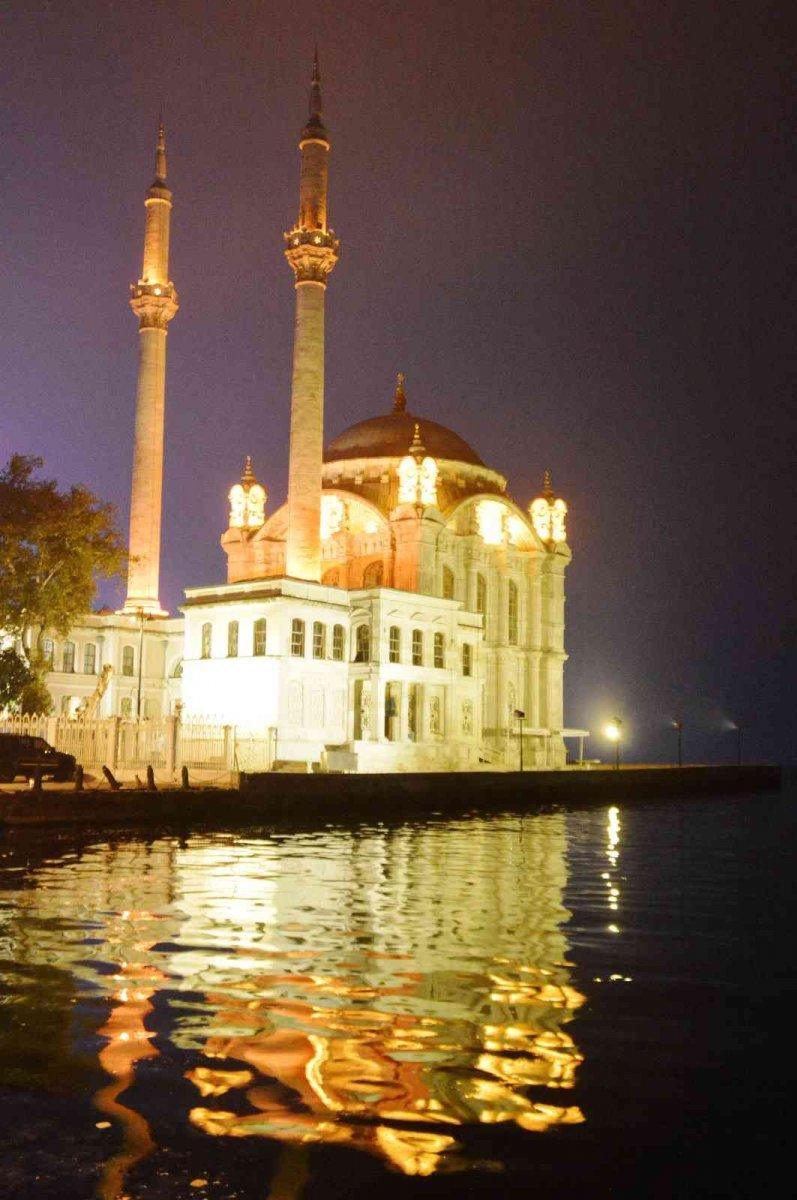 İstanbul'da gece saatlerinde sis etkili oldu #4