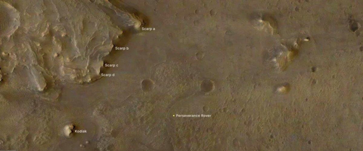 Mars ta uzaylı yaşamına dair kanıt bulundu #2