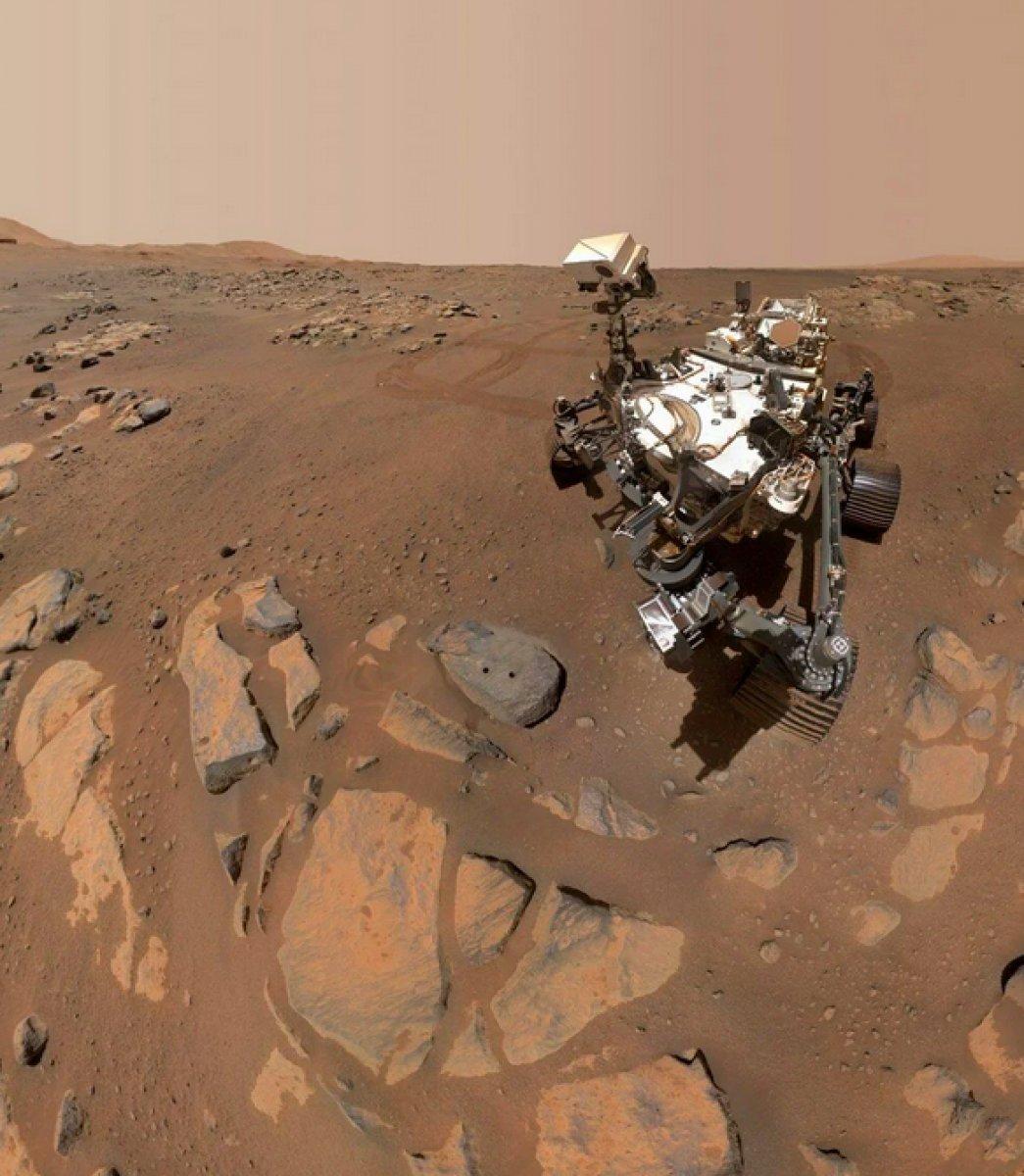Mars ta uzaylı yaşamına dair kanıt bulundu #6