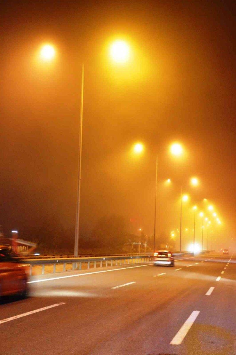 İstanbul'da gece saatlerinde sis etkili oldu #3