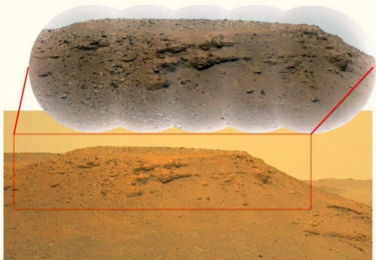 Mars ta uzaylı yaşamına dair kanıt bulundu #3