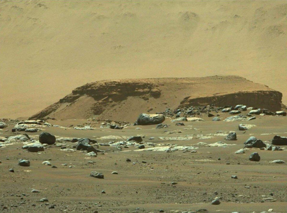 Mars ta uzaylı yaşamına dair kanıt bulundu #4
