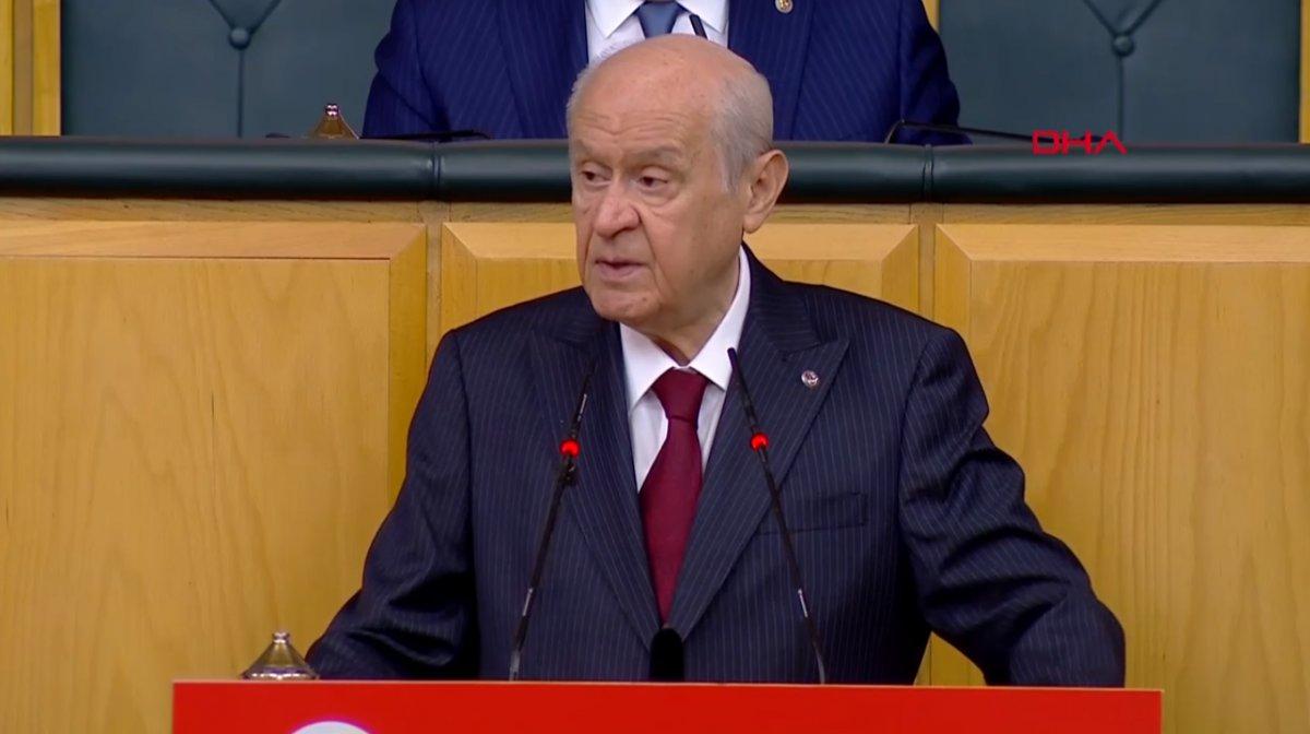Devlet Bahçeli den ağzını kapat açıklaması yapan HDP ye cevap #1