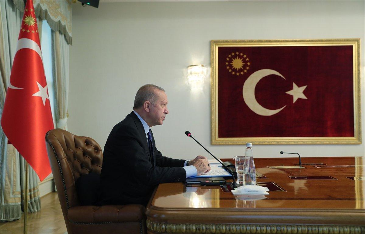 Cumhurbaşkanı Erdoğan, G20 Zirvesi nde katılımcılara hitap etti #3