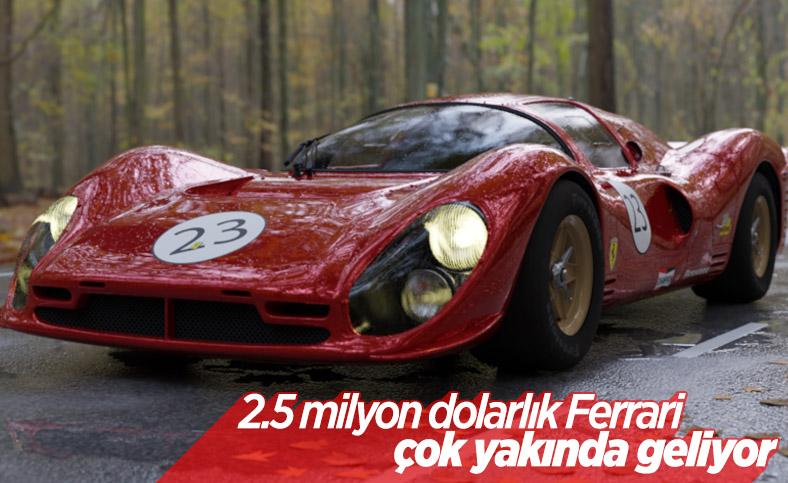 2.5 milyon dolarlık Ferrari Icona kasımda geliyor