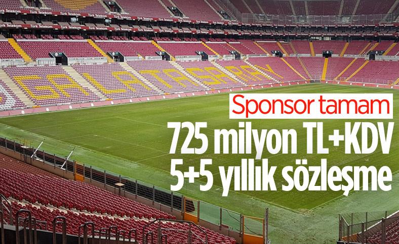 Galatasaray, stat sponsorunu açıkladı