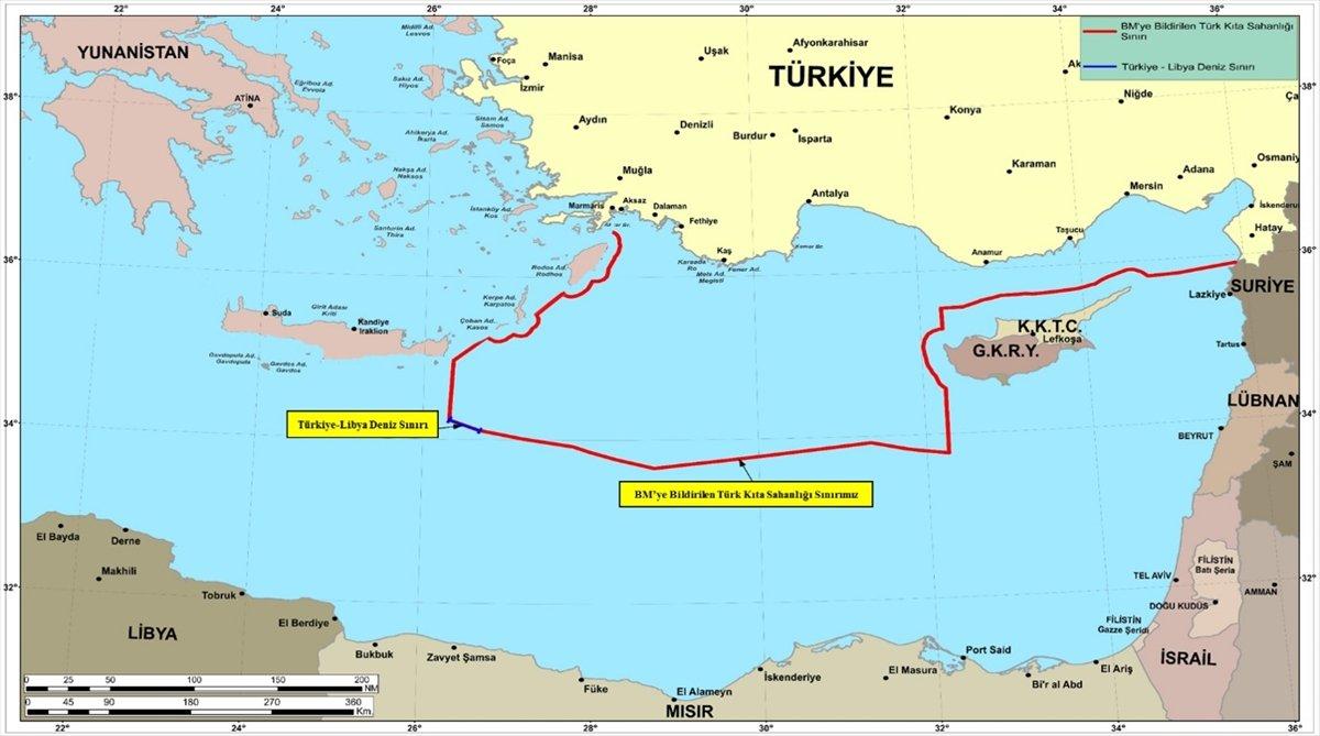 MSB: Oruç Reis le ilgili NAVTEX iddiaları gerçek dışıdır #3