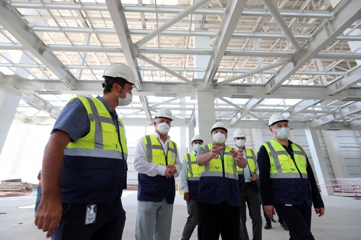 Mustafa Varank, TOGG un üretim tesisinin inşaatını inceledi #3