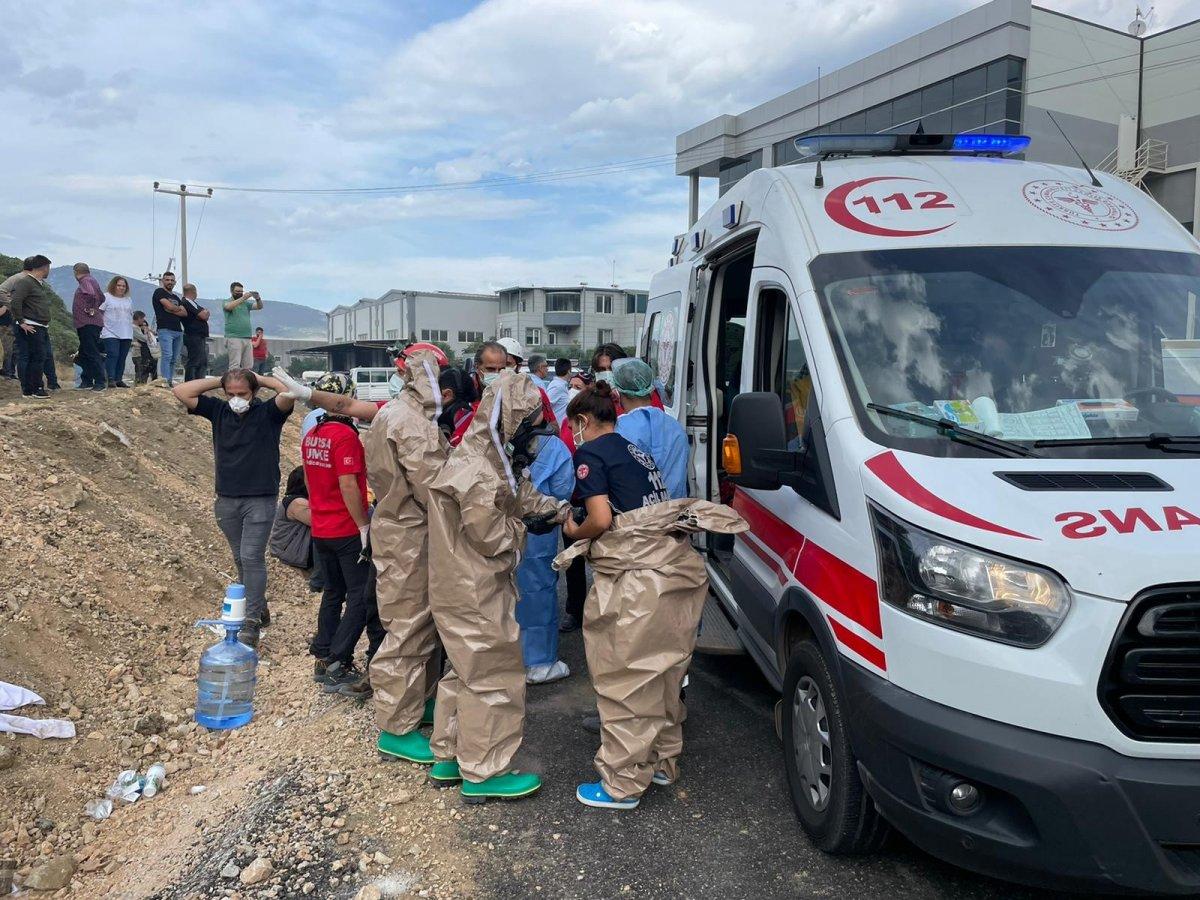 Bursa da fabrikada patlama: Ölü ve yaralılar var #3