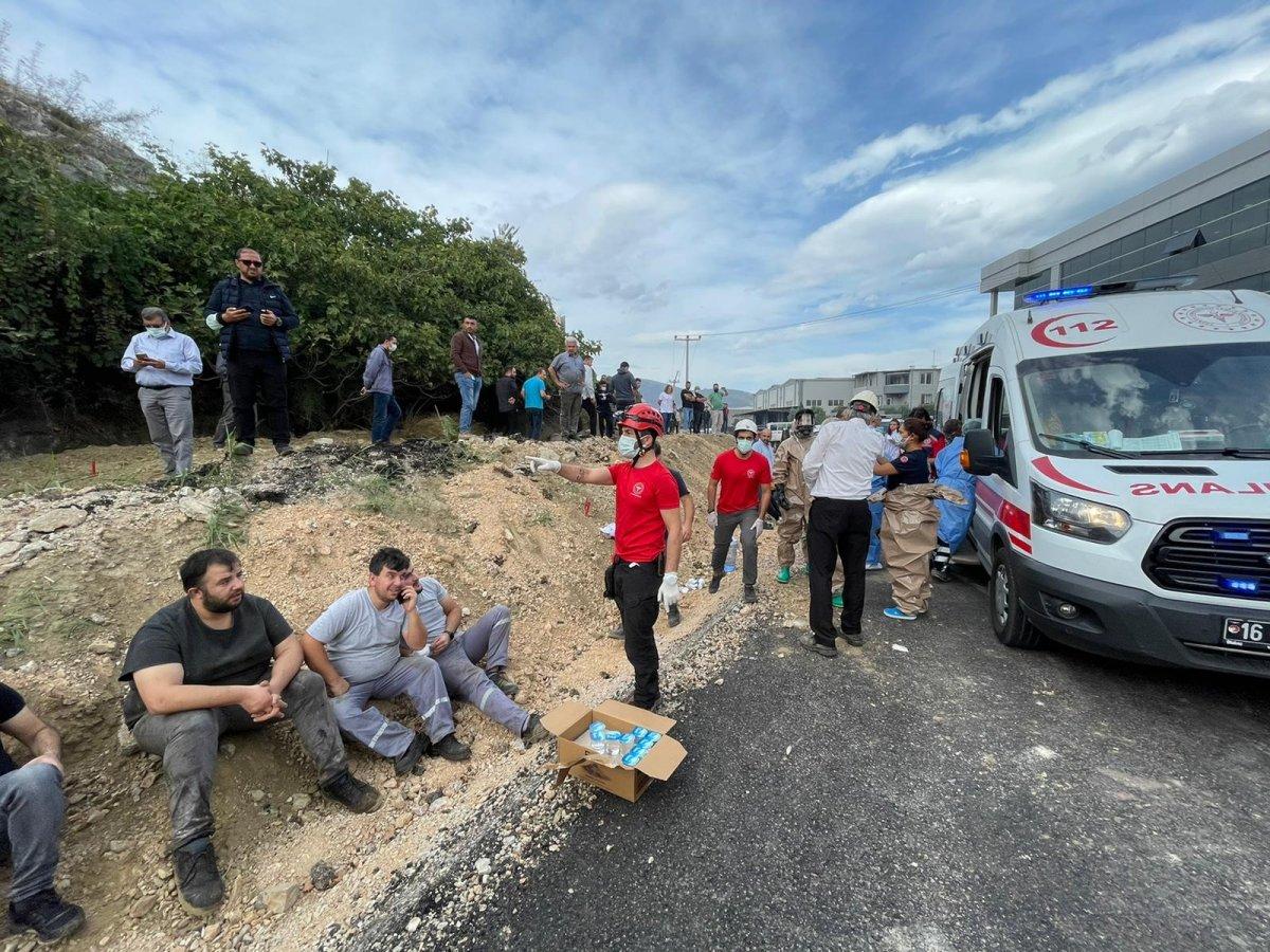Bursa da fabrikada patlama: Ölü ve yaralılar var #4