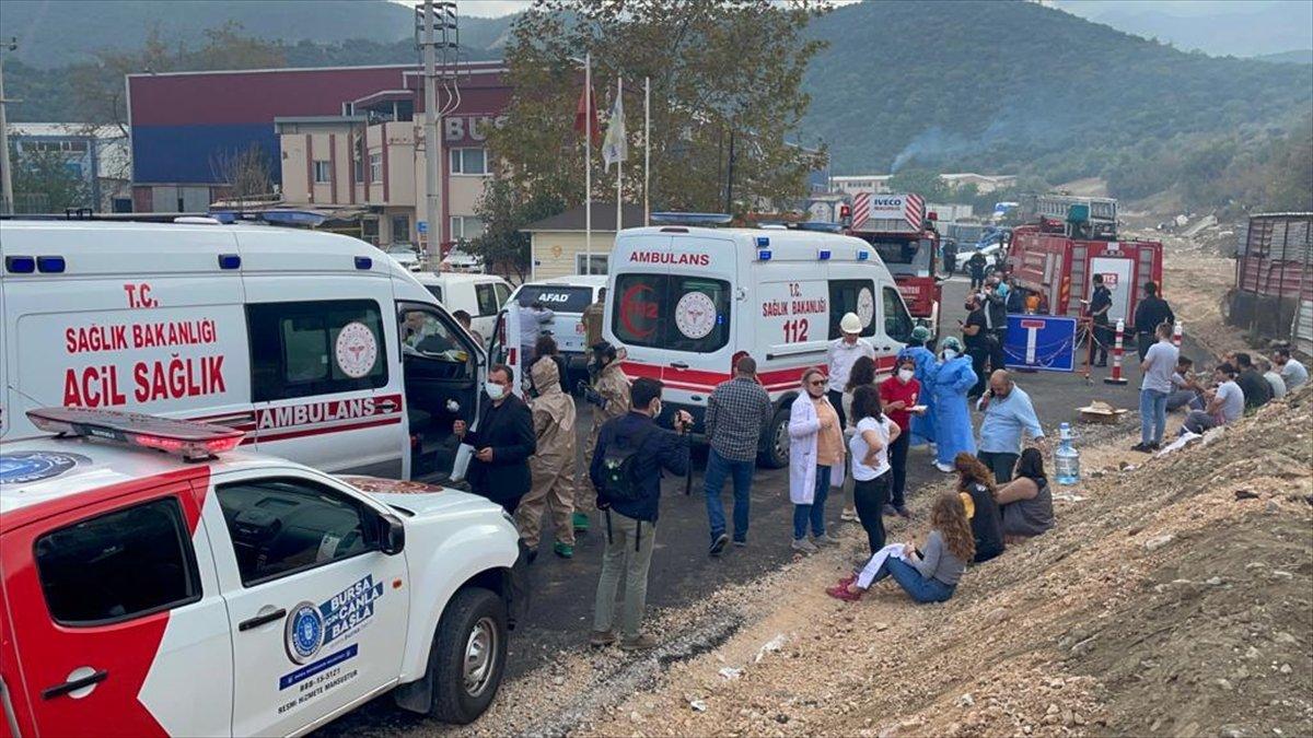 Bursa da fabrikada patlama: Ölü ve yaralılar var #6