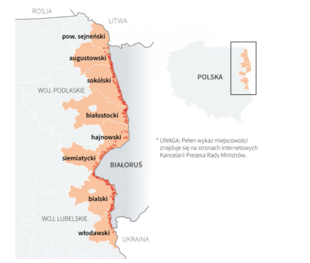 Polonya göçmenlere karşı Belarus sınırına duvar örecek #1