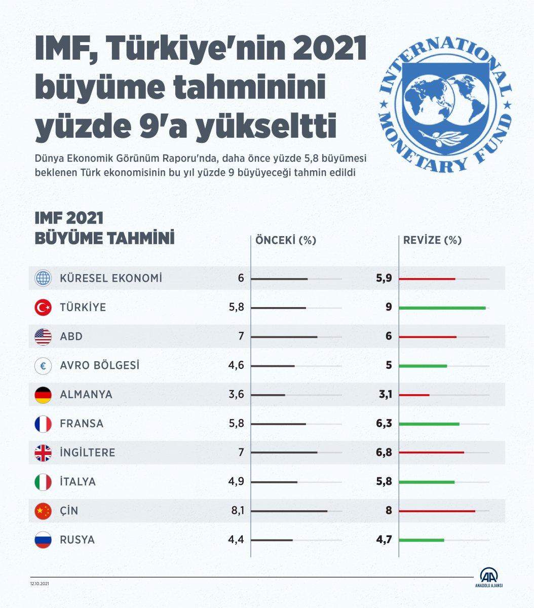 IMF den Türkiye için büyüme tahmini #2