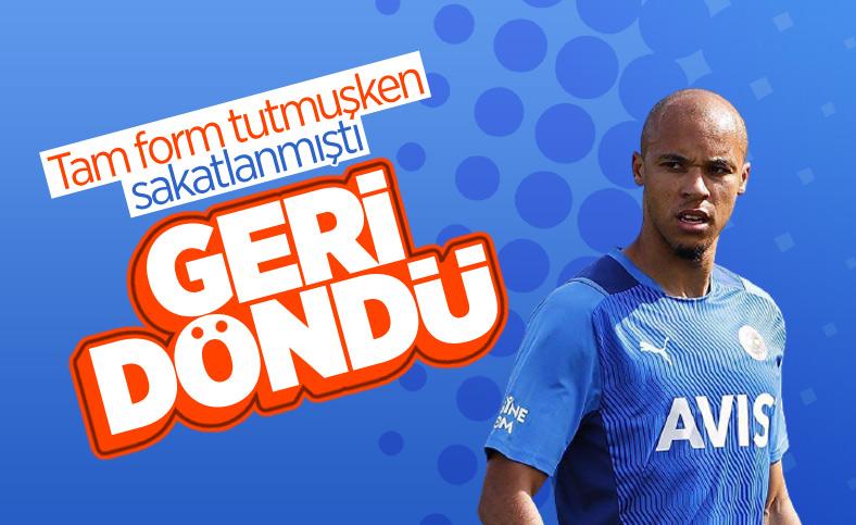 Fenerbahçe'de Marcel Tisserand döndü