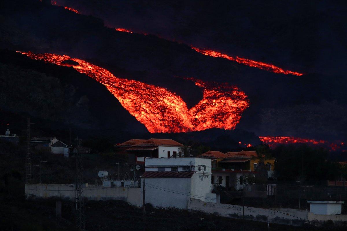 La Palma Adası nda lavlar 1458 binayı yakıp yıktı #2