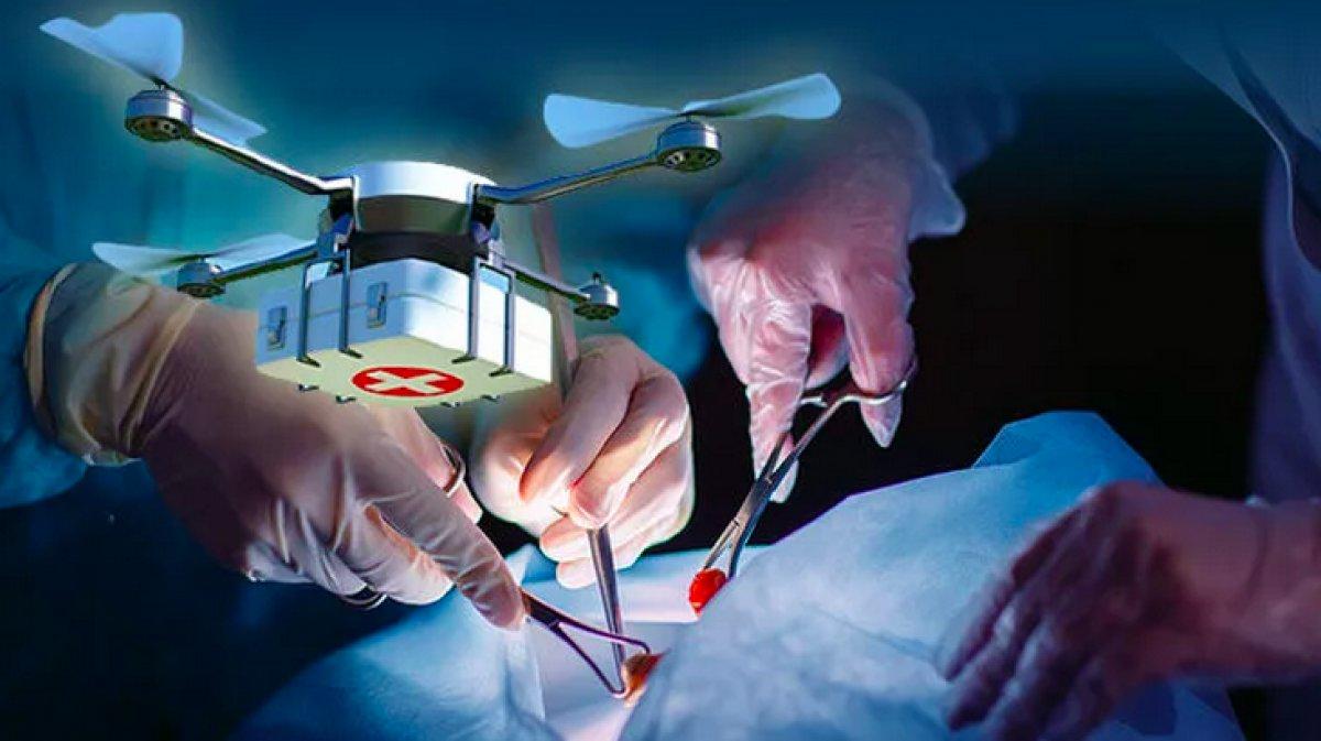 Kanada da hastaya nakledilecek akciğer ilk kez drone ile taşındı #6