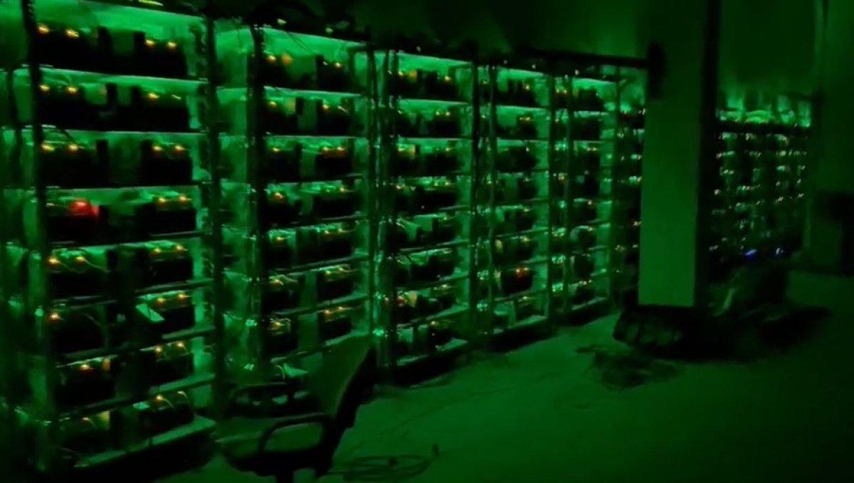Kocaeli deki sahte Bitcoin üretim tesisine baskın düzenlendi #2