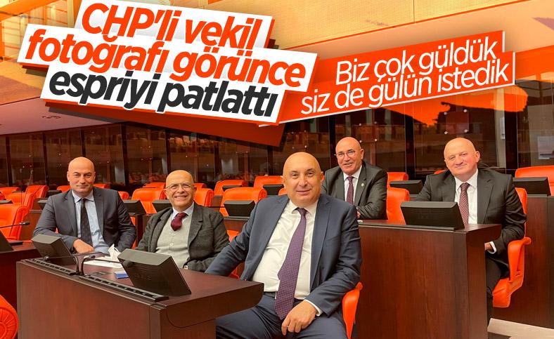Aykut Erdoğdu'dan CHP'li vekillere kel esprisi