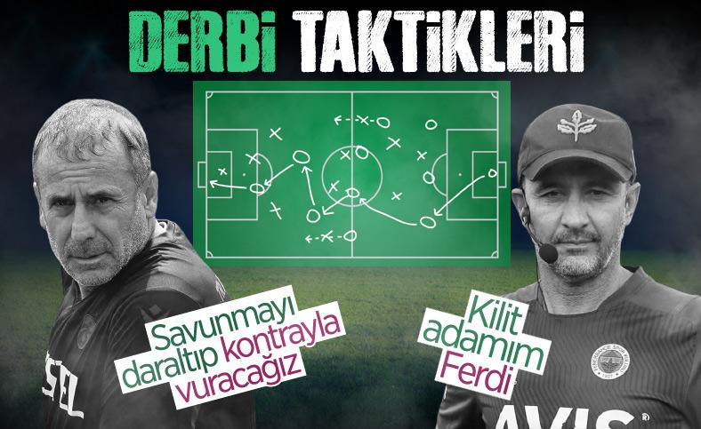 Trabzonspor - Fenerbahçe maçı öncesi derbi taktikleri