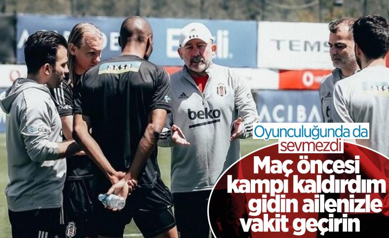 Sergen Yalçın'dan maç öncesi kamp kararı
