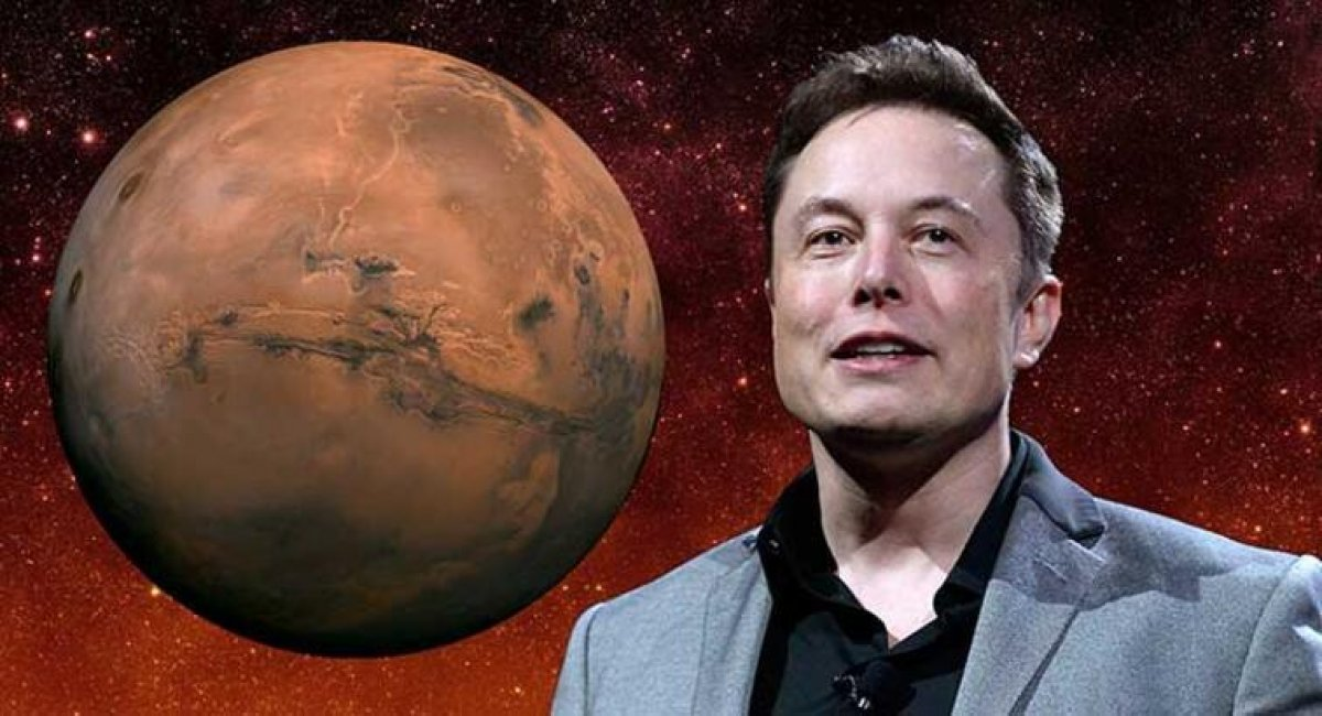 Elon Musk, Mars ta Tesla üretmek istiyor #1