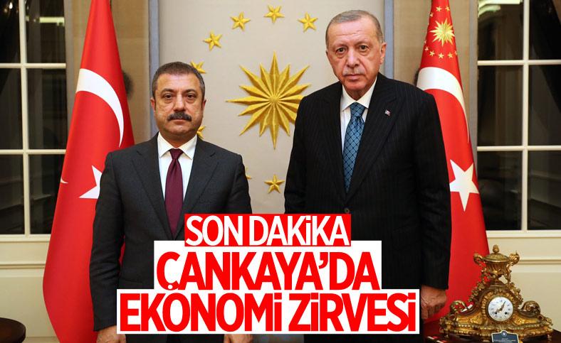 Cumhurbaşkanı Erdoğan, Şahap Kavcıoğlu'nu kabul etti