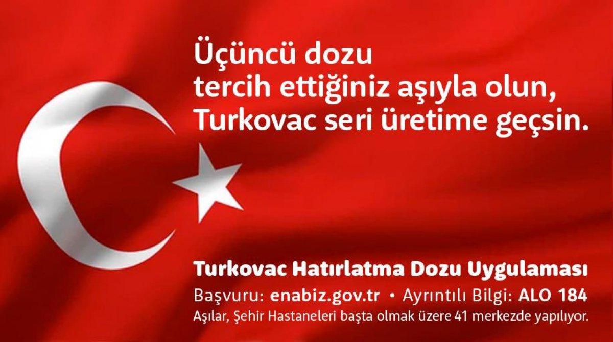 Sağlık Bakanı Fahrettin Koca dan Turkovac çağrısı #3