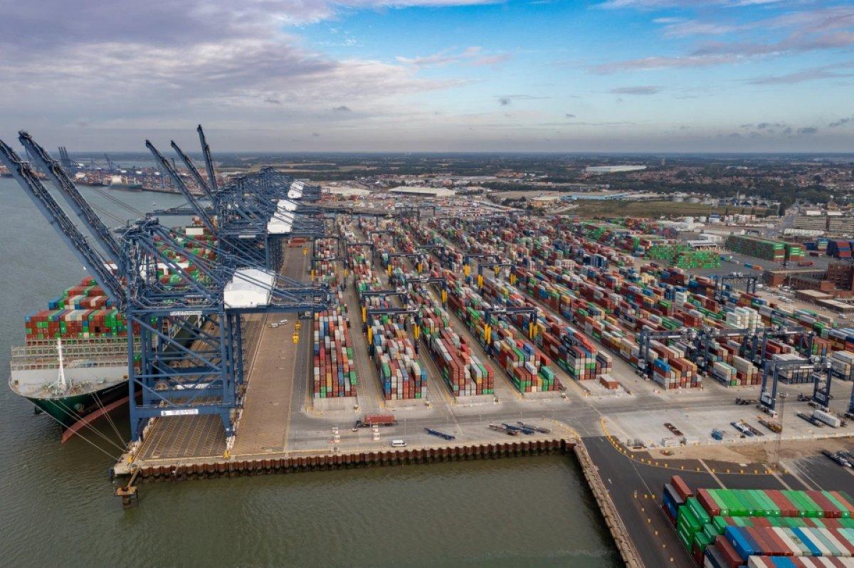 İngiltere limanlarında nakliye krizi yaşanıyor #6