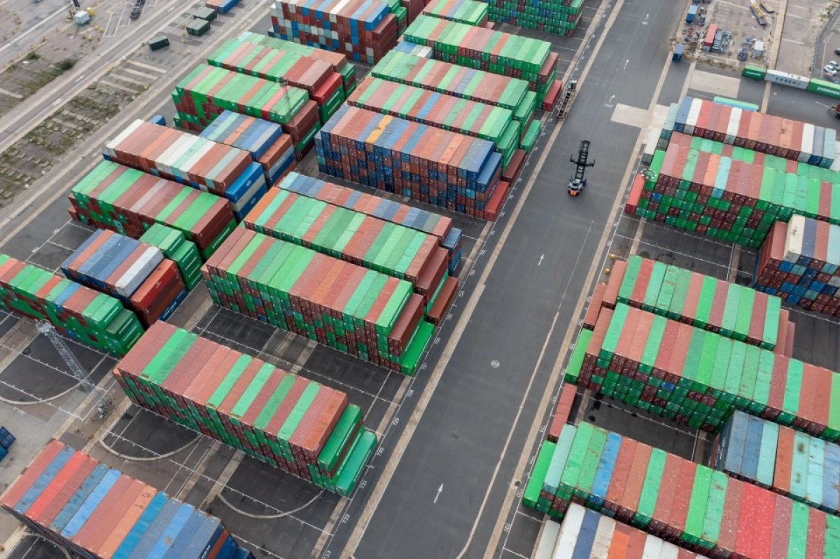İngiltere limanlarında nakliye krizi yaşanıyor #7