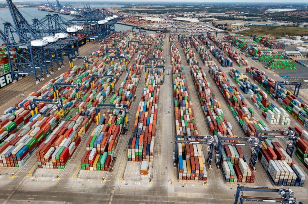 İngiltere limanlarında nakliye krizi yaşanıyor #5