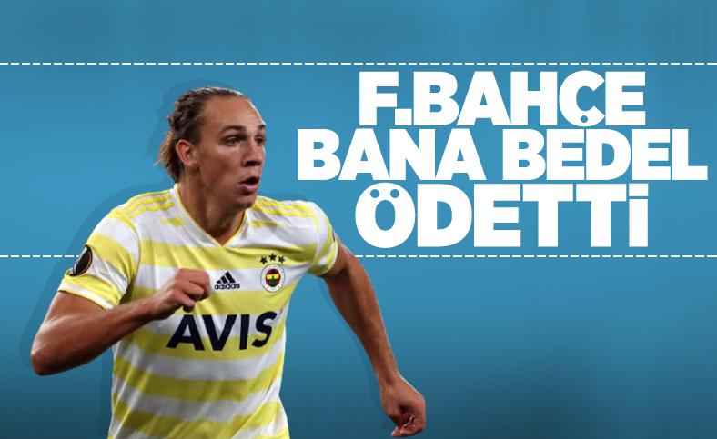 Frey: Fenerbahçe'de bedel ödedim